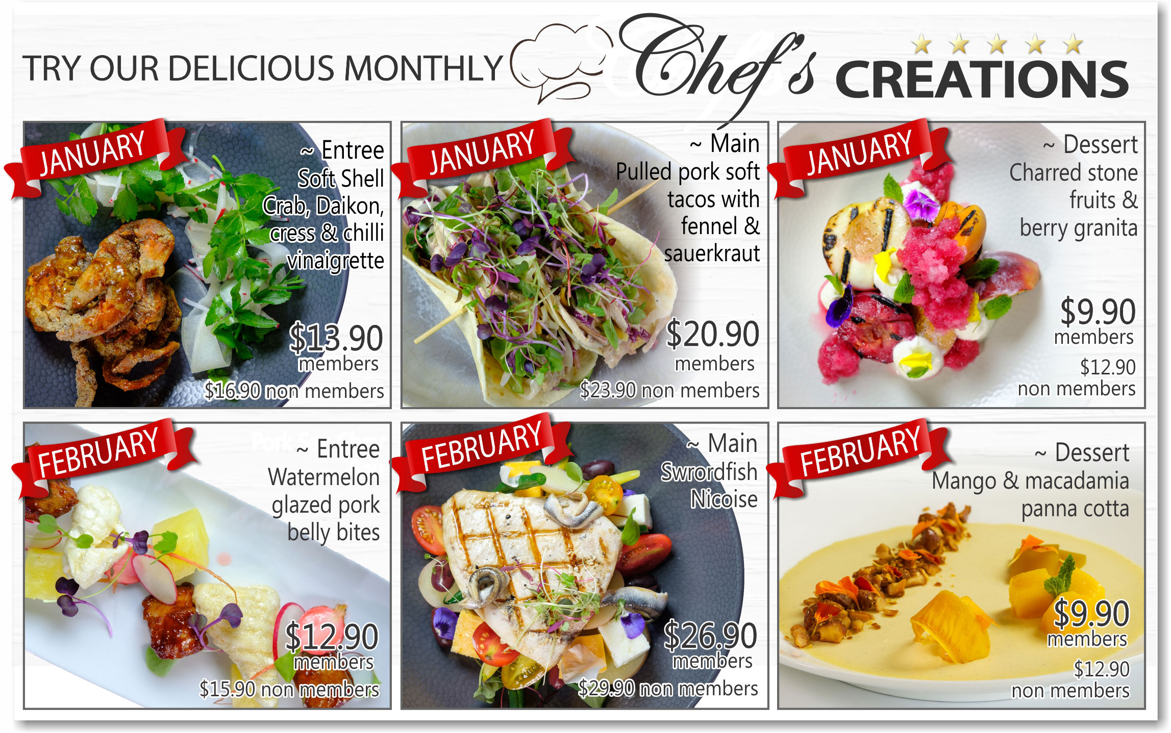 Meals-of-the-month
